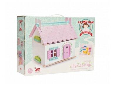 Dviejų aukštų lėlių namas 5