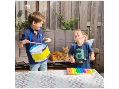 Medinis spalvotas ksilofonas 3