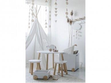 Medinis staliukas su kėdutėmis 4
