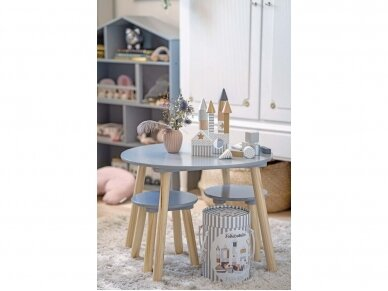 Medinis staliukas su kėdutėmis 3