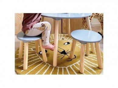 Medinis staliukas su kėdutėmis 5