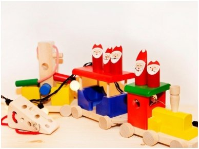 Wooden train 8