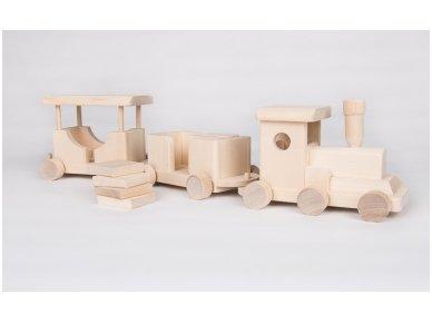 Medinis traukinukas 5