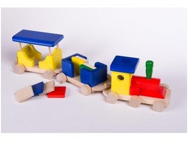 Wooden train 6