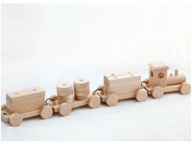 Medinis traukinys 6