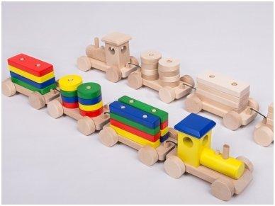 Medinis traukinys 4