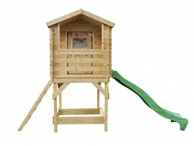 Medinis žaidimų namelis vaikams