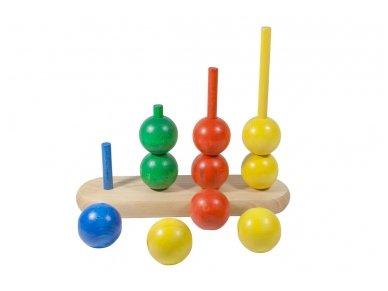 Medinis žaislas ''Burbuliukai'' 2