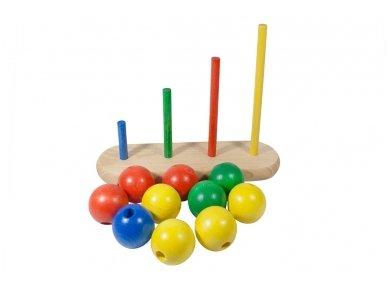 Medinis žaislas ''Burbuliukai'' 4