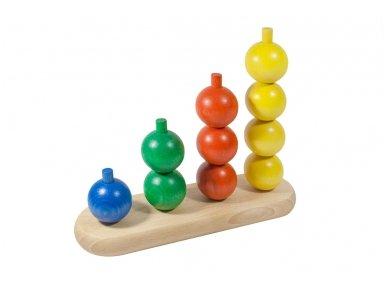 Medinis žaislas ''Burbuliukai''