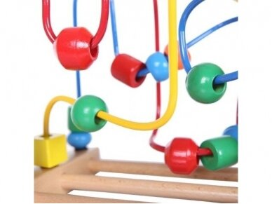 """Medinis lavinamasis žaislas """"Labirintas"""" 5"""
