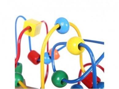"""Medinis lavinamasis žaislas """"Labirintas"""" 4"""