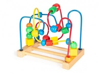 """Medinis lavinamasis žaislas """"Labirintas"""" 2"""