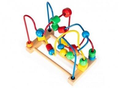 """Medinis lavinamasis žaislas """"Labirintas"""" 3"""