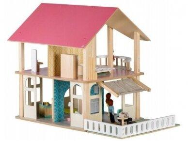 """Medinis lėlių namas """"Draugės"""" 3"""