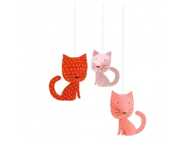 """Pakabinama dekoracija """"Katinai"""""""