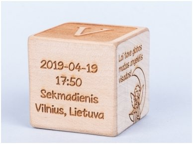 Personalized birth block 7