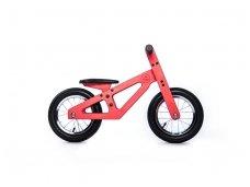 Rausvas balansinis dviratukas