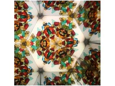 Rankų darbo kaleidoskopas ''Pūkelis'' 3