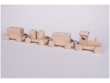 Medinis traukinys 3