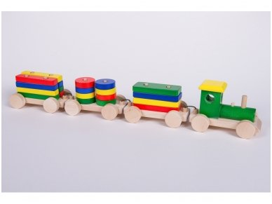 Medinis traukinys 8