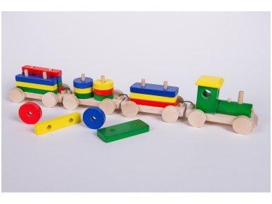 Medinis traukinys 10