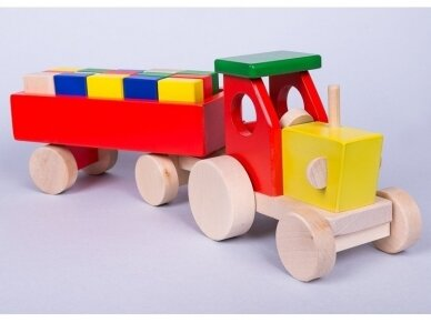 Tractor with blocks 12
