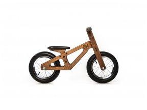 Rudas balansinis dviratukas