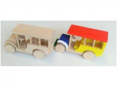 Safari medinė mašina 3