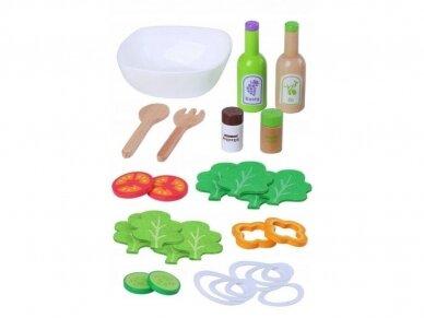 Medinis salotų rinkinys 2