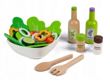 Medinis salotų rinkinys