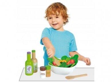 Medinis salotų rinkinys 3