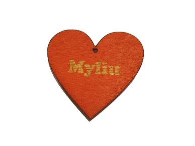 Širdelė-magnetukas ''Myliu''