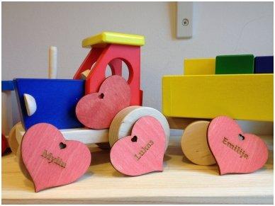 Širdelė-magnetukas 5