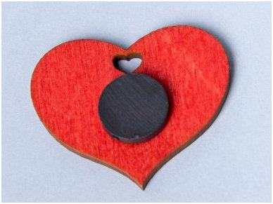 Širdelė-magnetukas 2