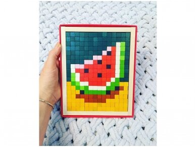 Spalvota mozaika 9