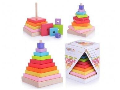 Spalvota piramidė 2
