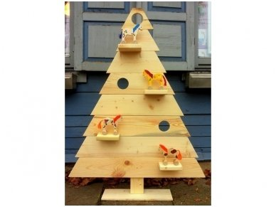Wooden Christmas tree 5