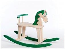 Rocking horse ''Green''