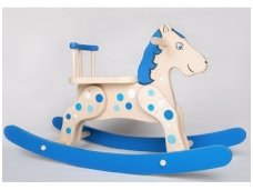 "Rocking horse ""Blue Cloud"""