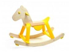 """Supamas medinis arkliukas """"Saulėgrąža"""""""