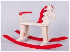 Rocking horse ''Red''