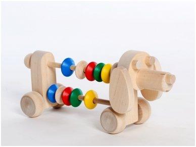 Šuniukas-skaitliukas