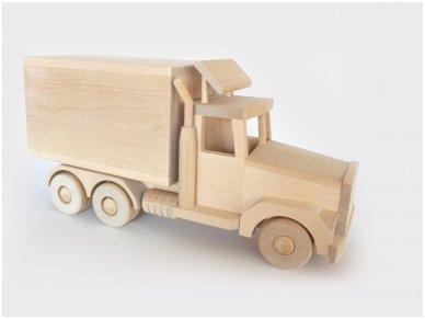 Furgonas-sunkvežimis didelis