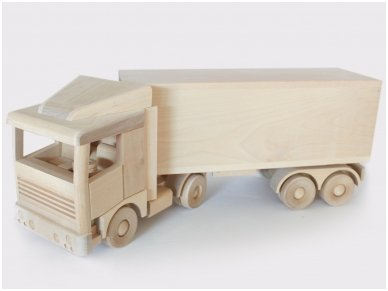 Large truck with trailer 2