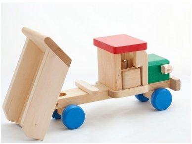 Wooden tipper lorry 2