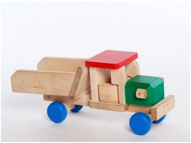 Wooden tipper lorry 4