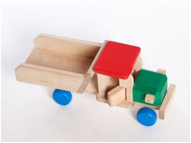 Wooden tipper lorry 5