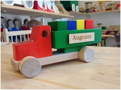 Truck with blocks 11