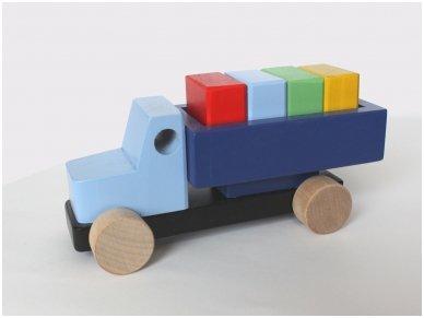 Sunkvežimis su kaladėlėmis 4